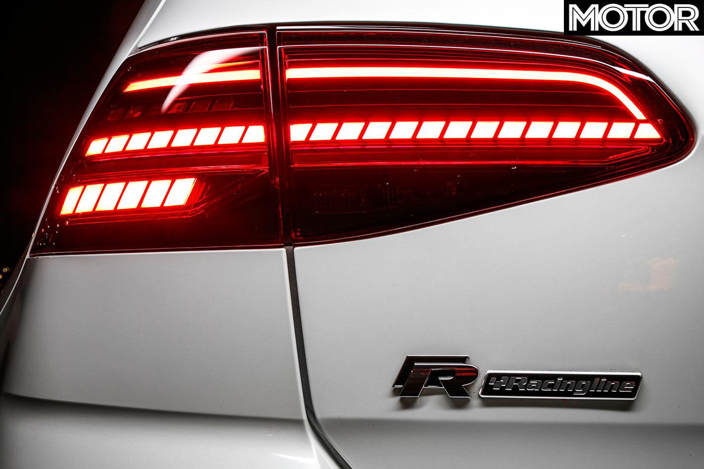 Volkswagen Golf R tail light