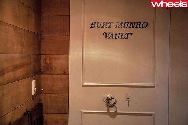 Burt -Munro -Vault