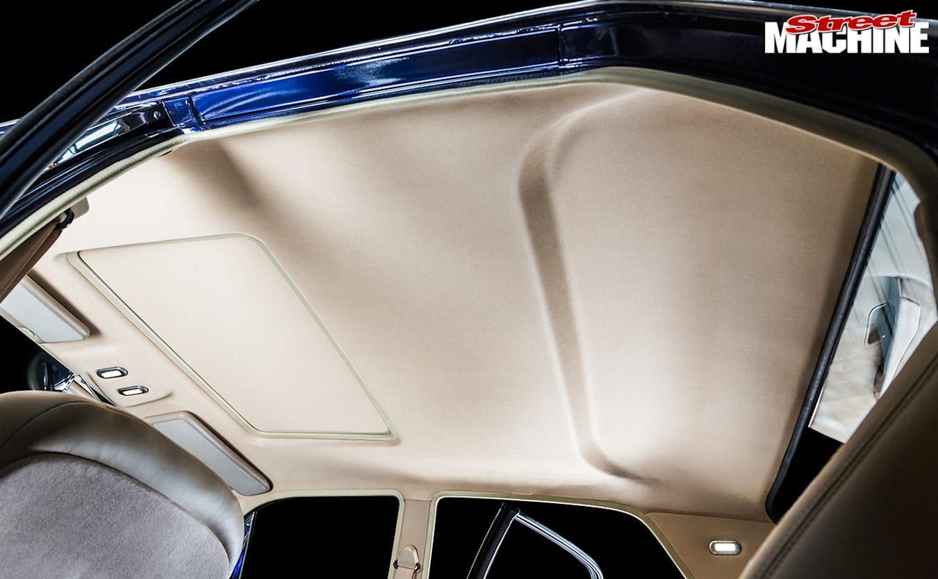 Ford ZB Fairlane rooflining
