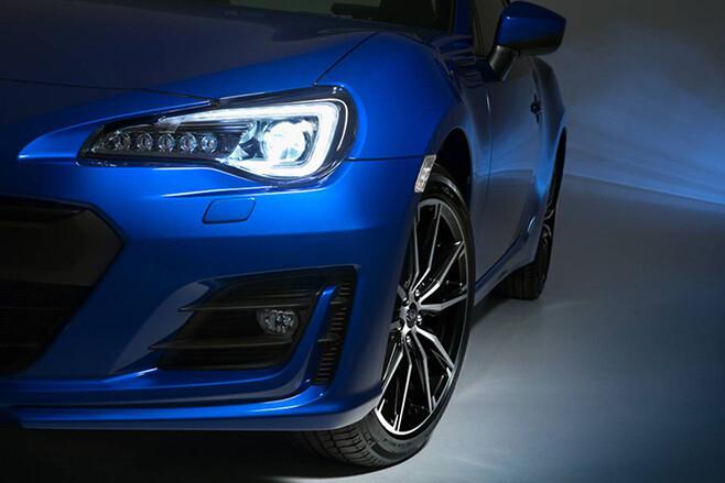 Subaru BRZ headlights