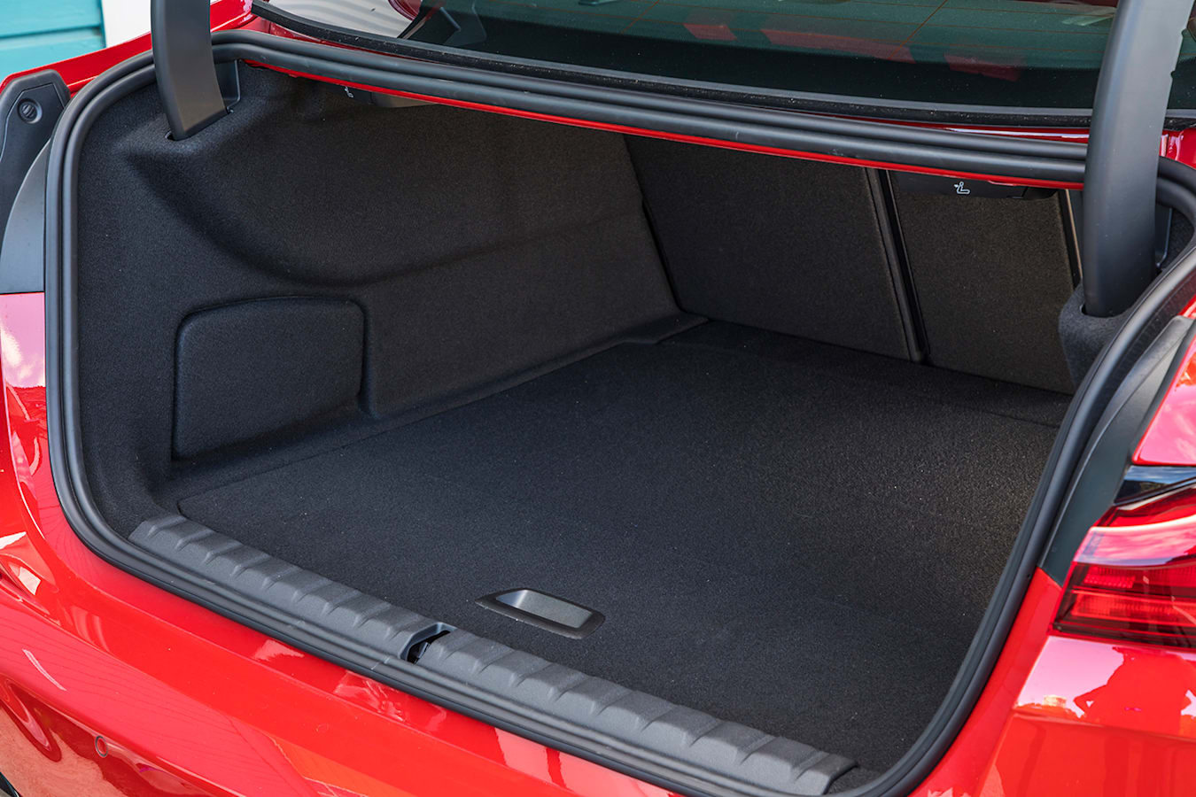 BMW 2 Series Gran Coupe luggage area