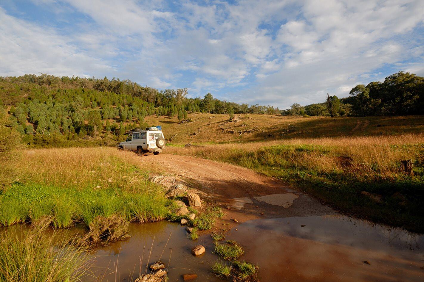 Nangar National Park, NSW offroad