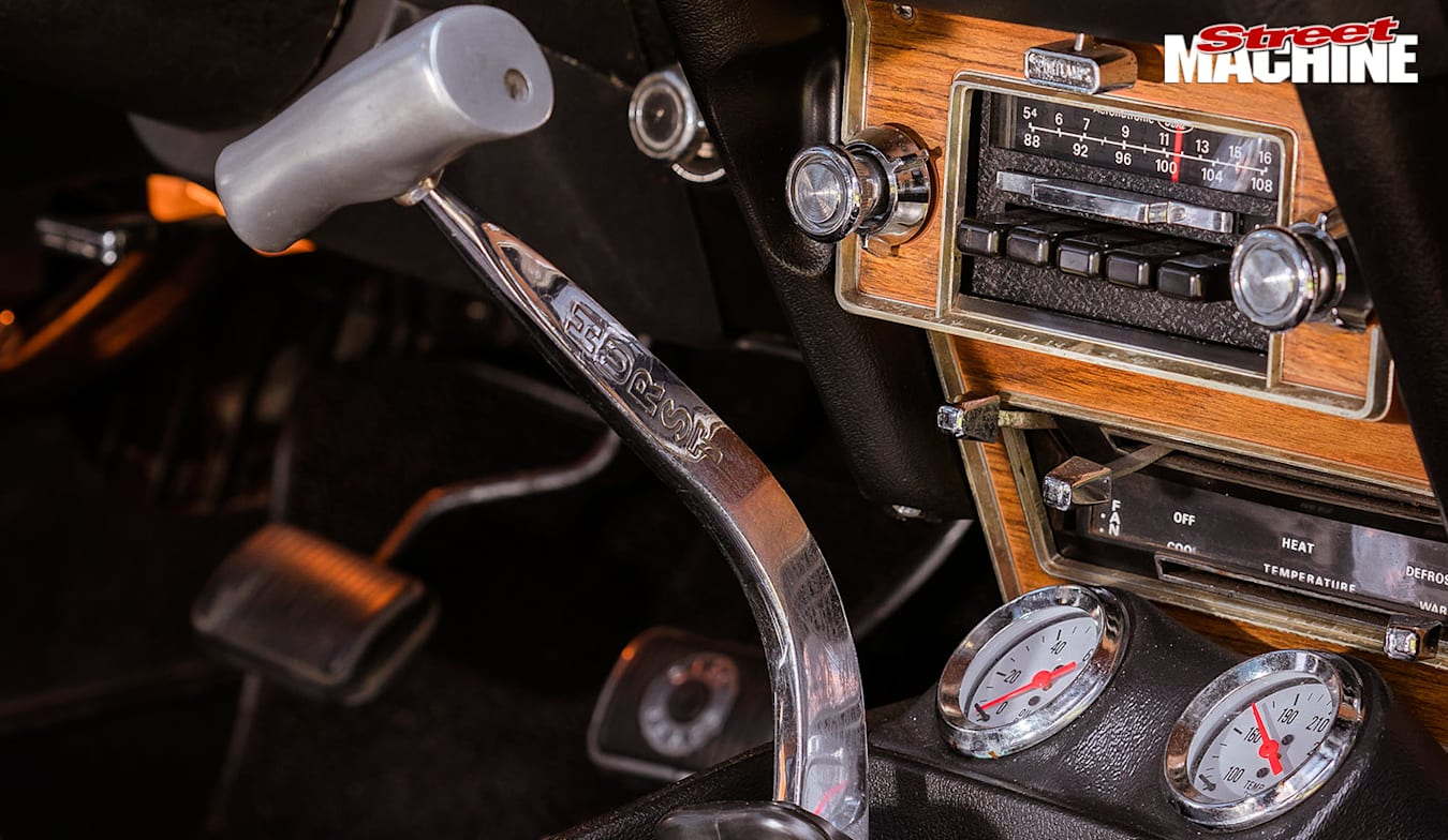 Ford Mustang console