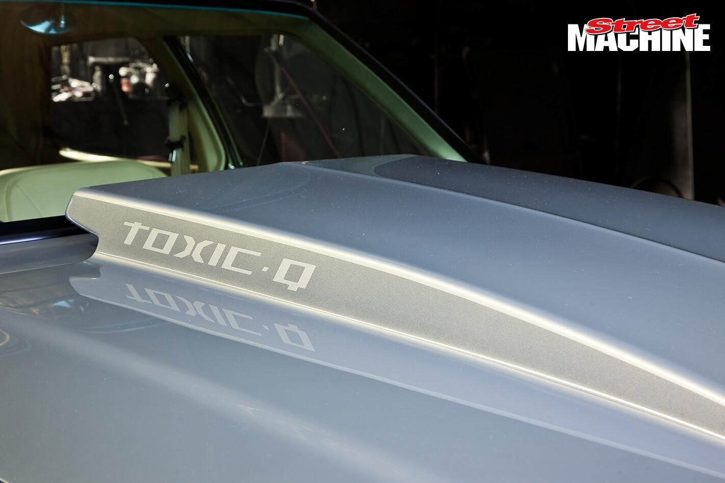 HQ Holden Sedan TOXICQ Bonnet