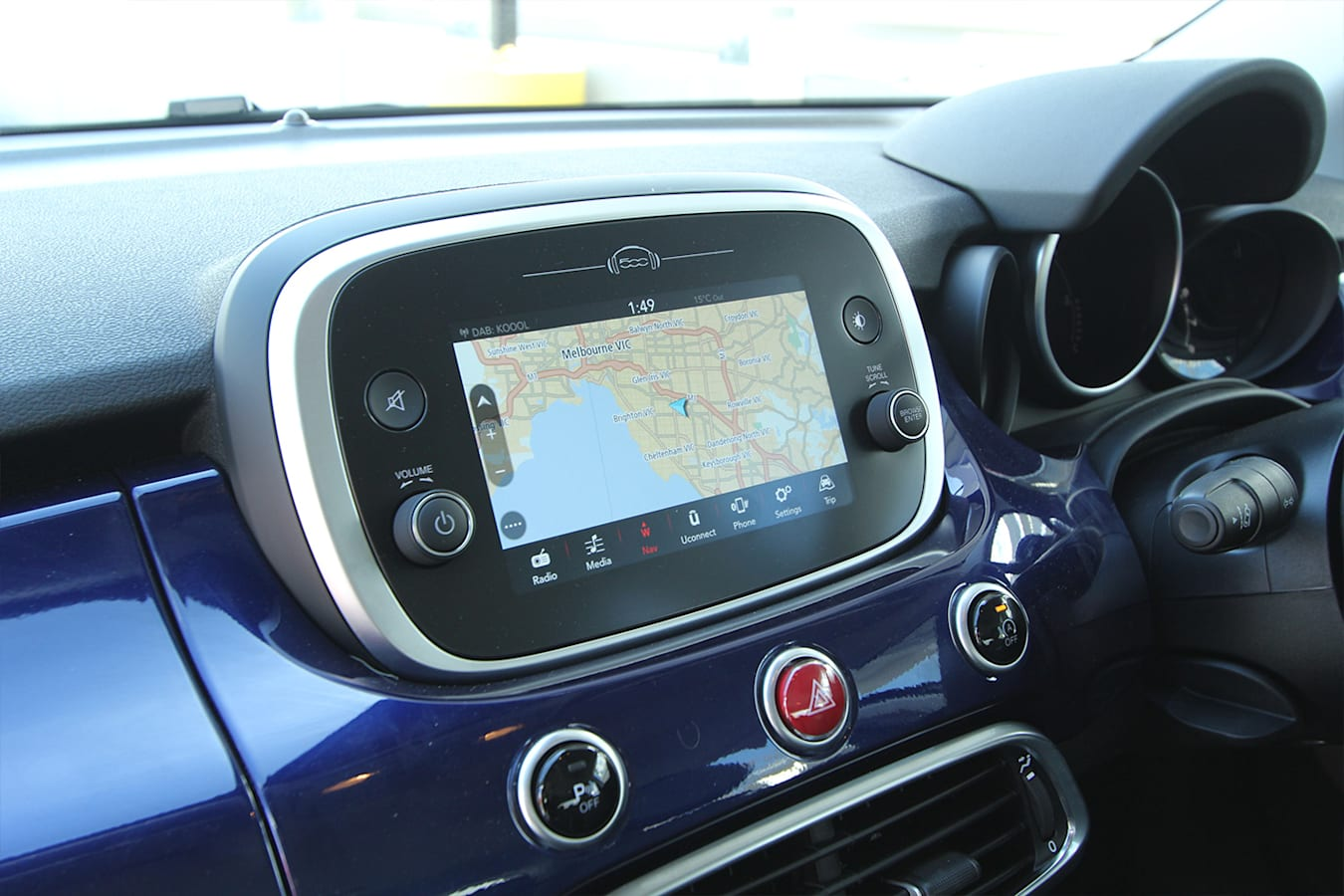 Fiat 500 X Screen Jpg