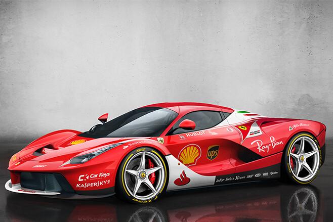 Ferrari-LaFerrari-with-scuderia-livery