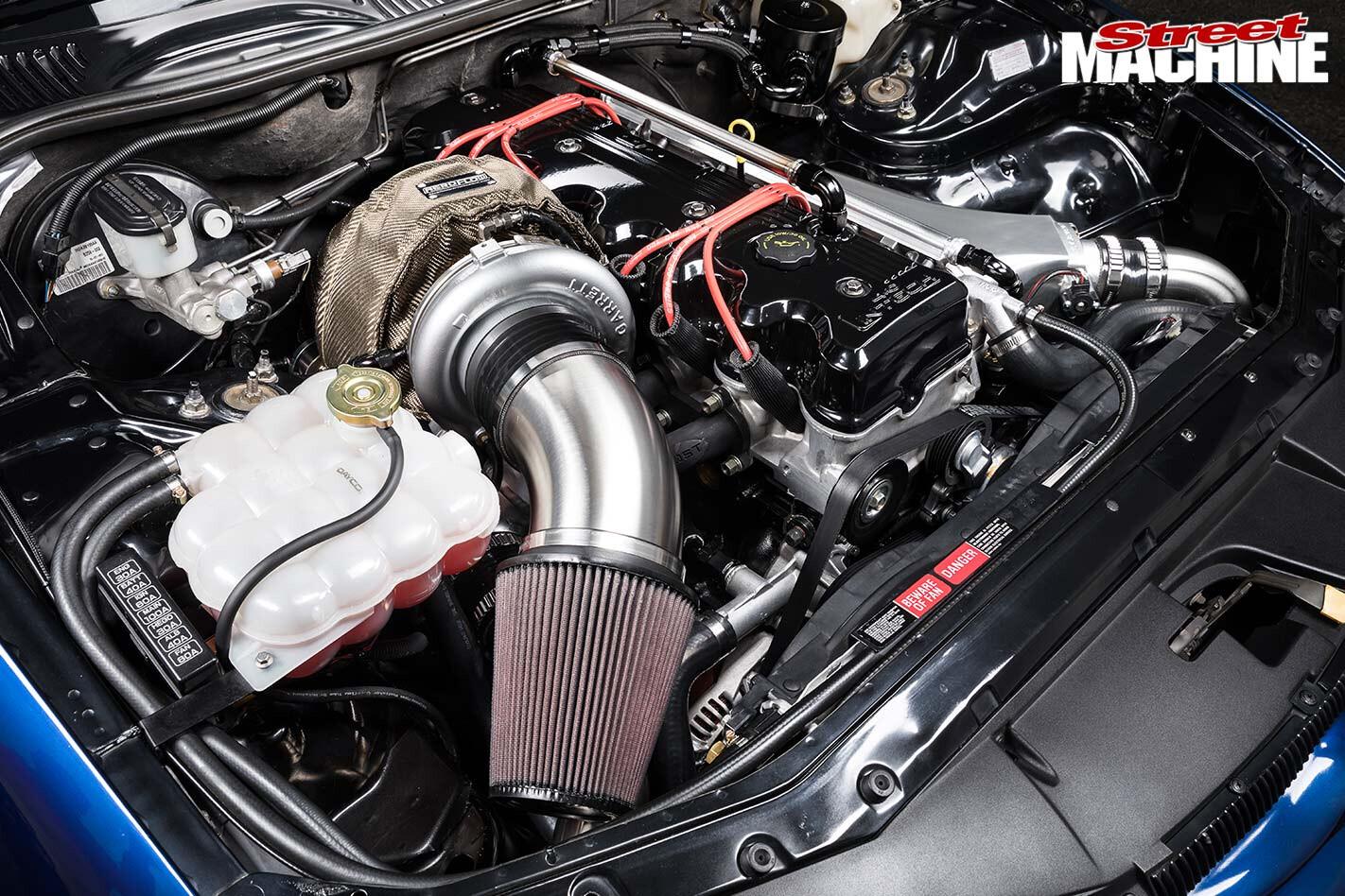 Ford Falcon EL engine bay