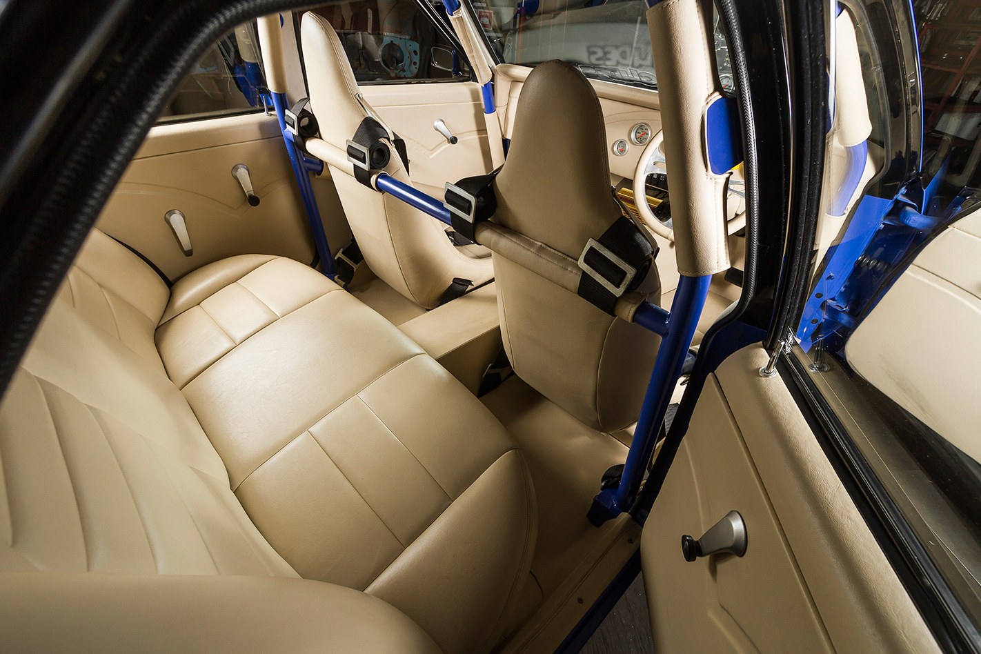 Holden LX Torana interior rear