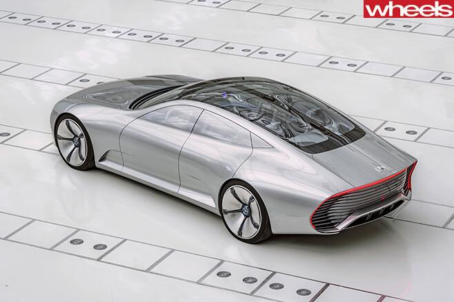 Mercedes -Coupe -IAA-rear