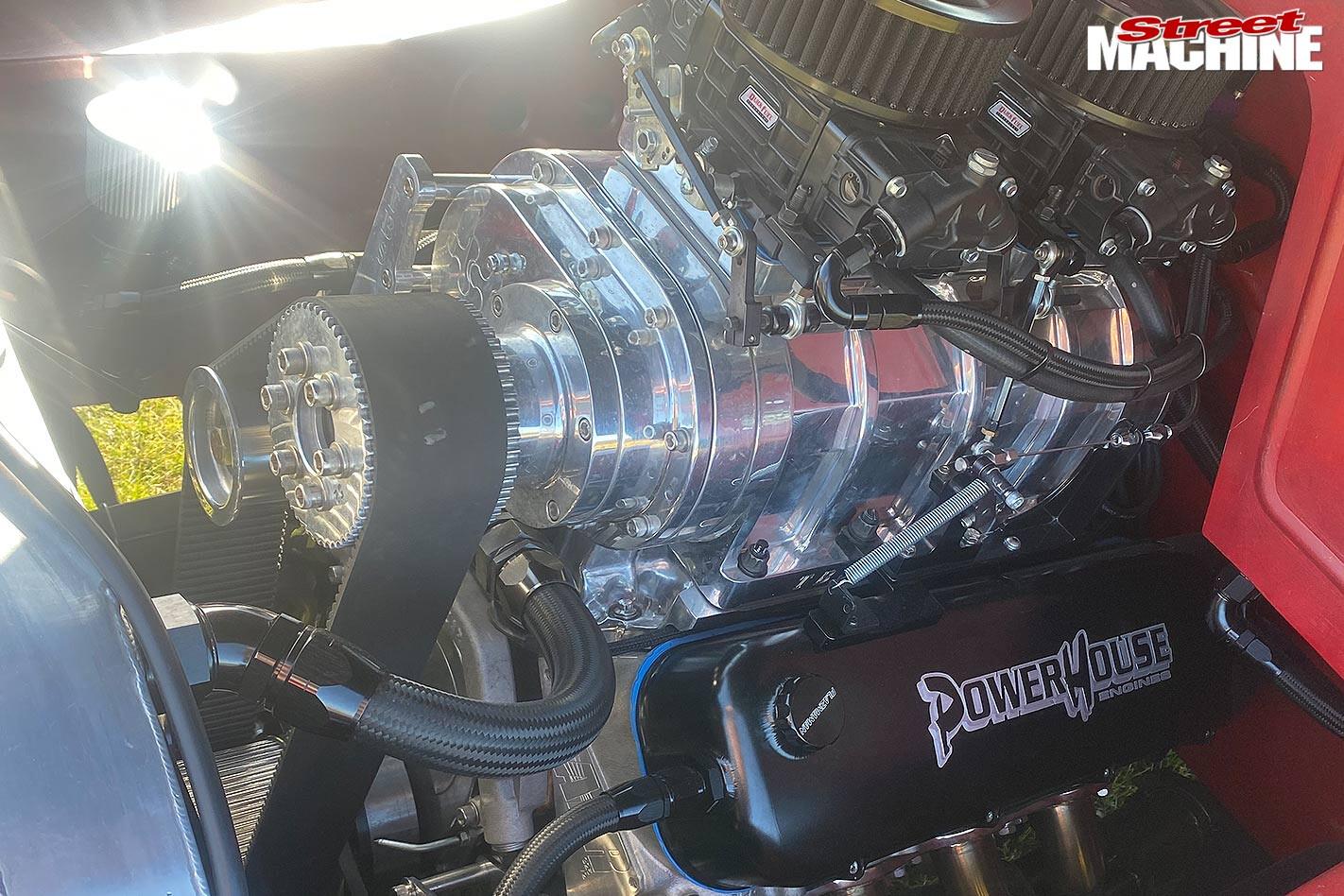 Bedford truck engine