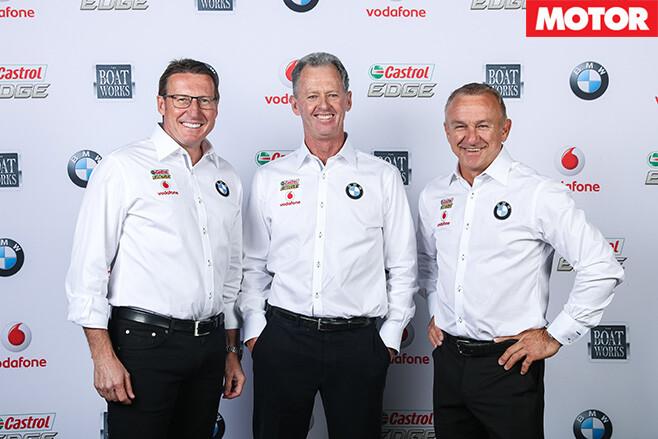 The BMW team