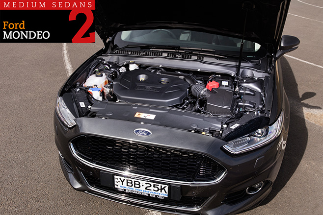 2016-Ford -Mondeo -engine