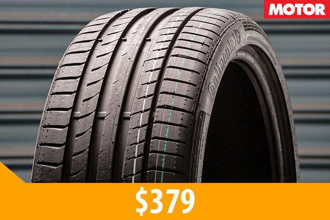 Continental Contisport 5p tyres