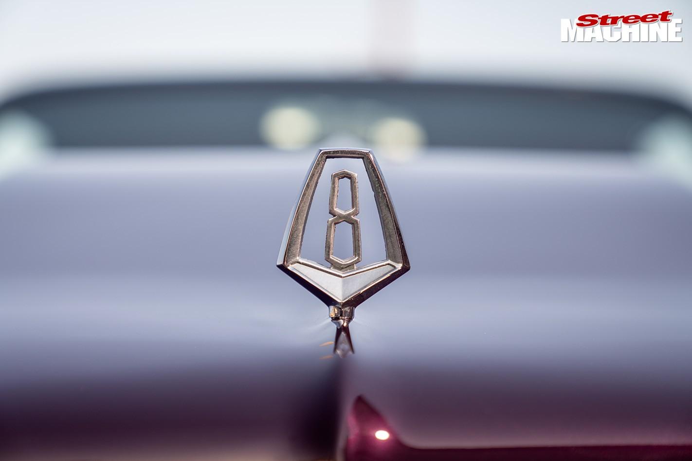 Chrysler VC Valiant V8 badge