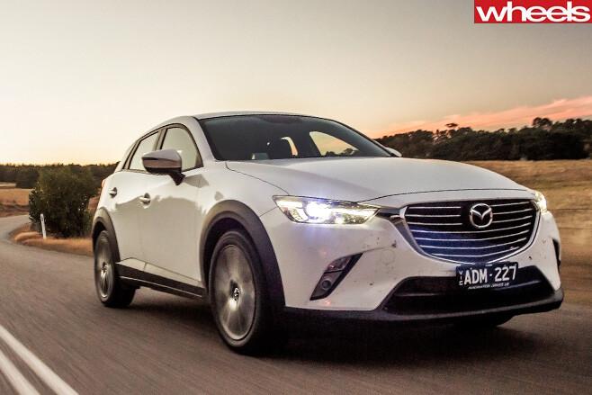 Mazda -Cx -3-front