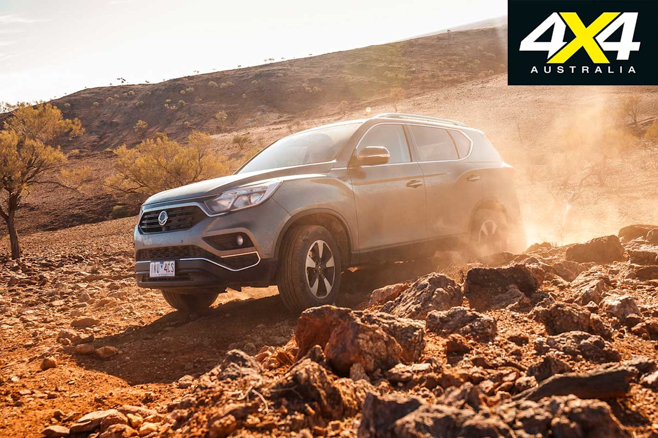 4 X 4 Of The Year 2019 Ssang Yong Rexton ELX Trail Driving Jpg