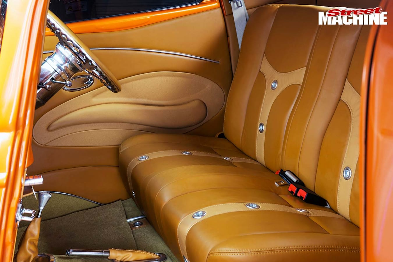 ford three widow coupe seats