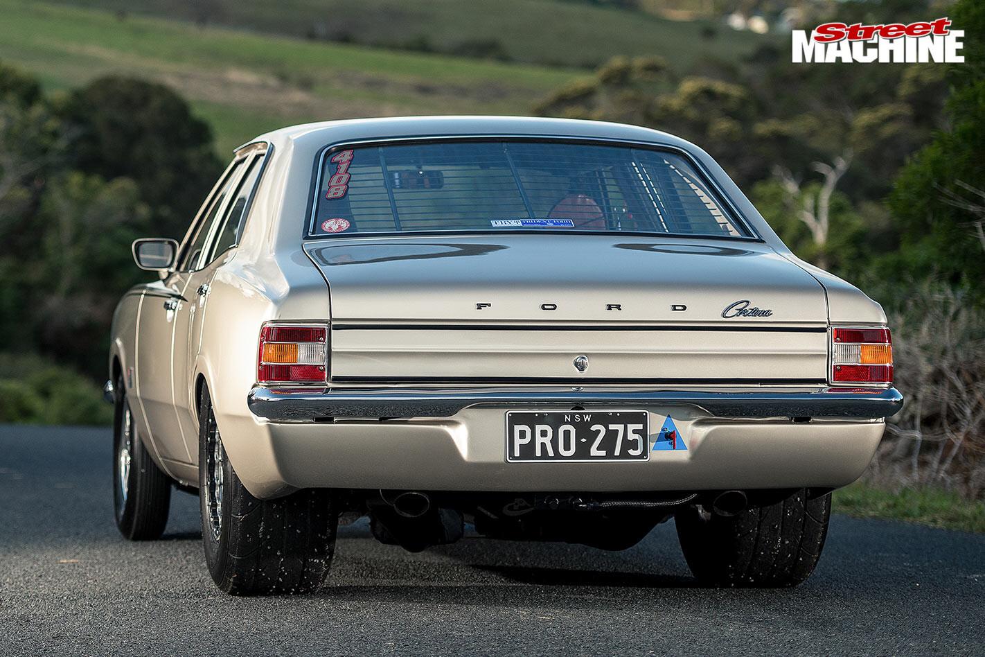 Ford Cortina rear