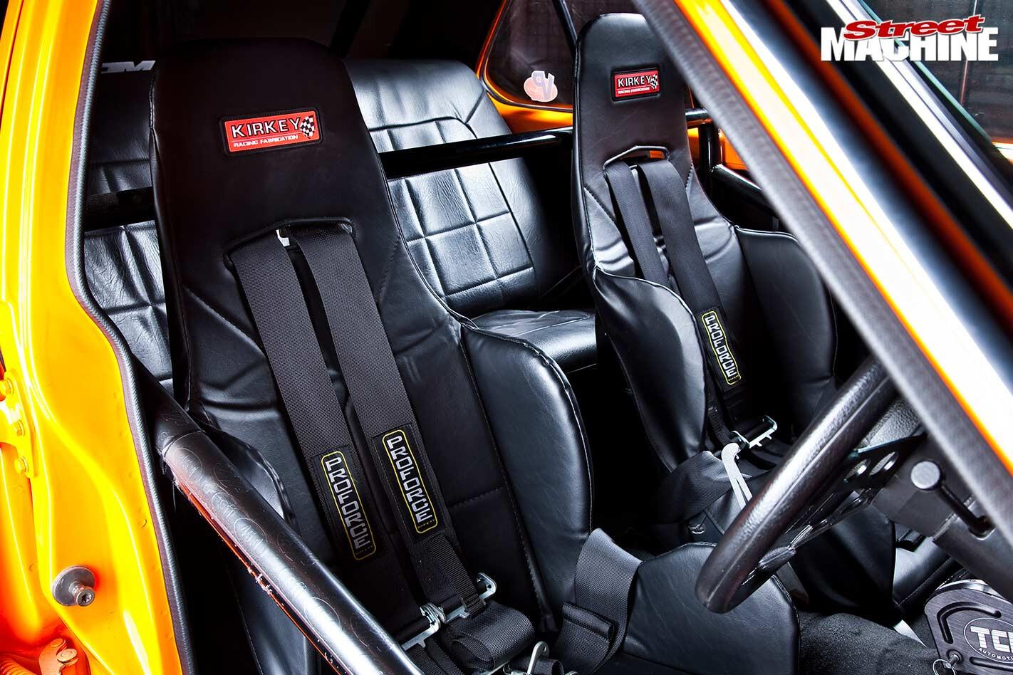 Holden LH Torana seats