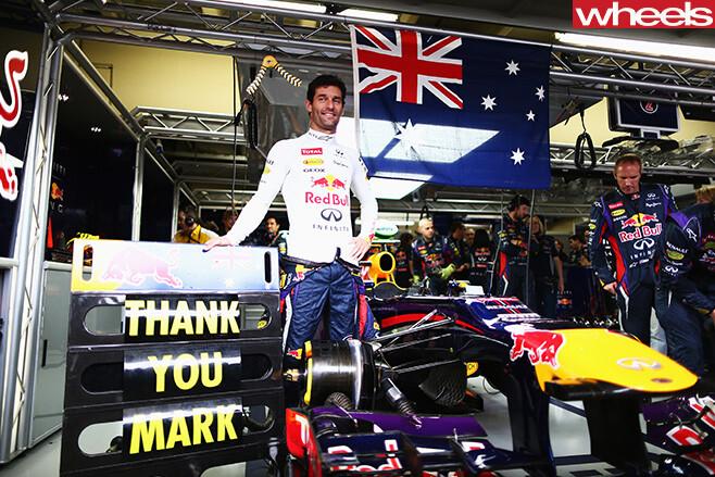 Mark -Webber -with -Red -Bull -car