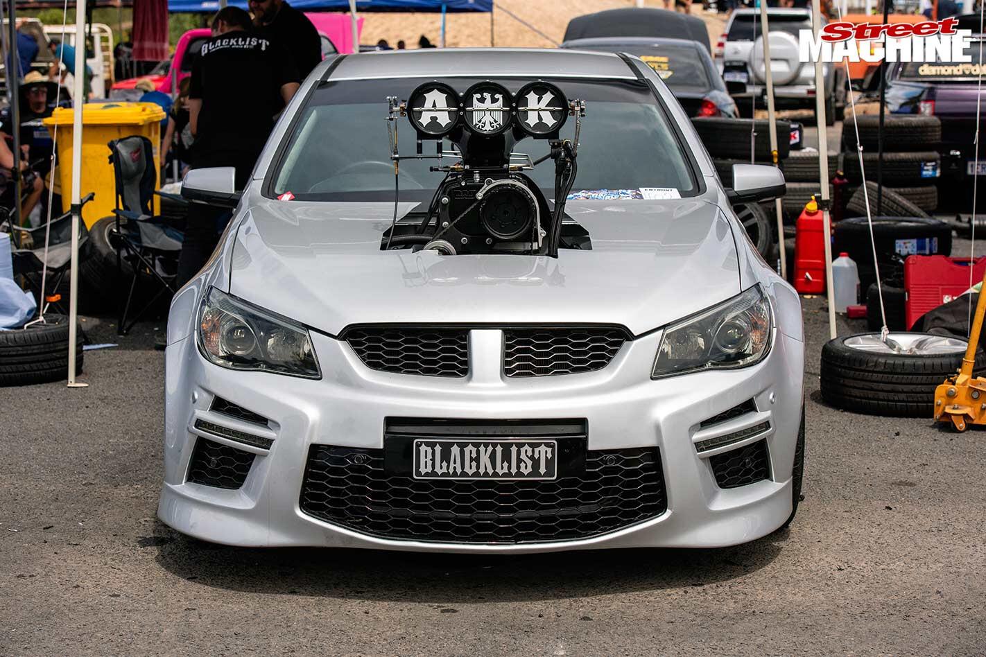 Holden Commodore BLACKLIST