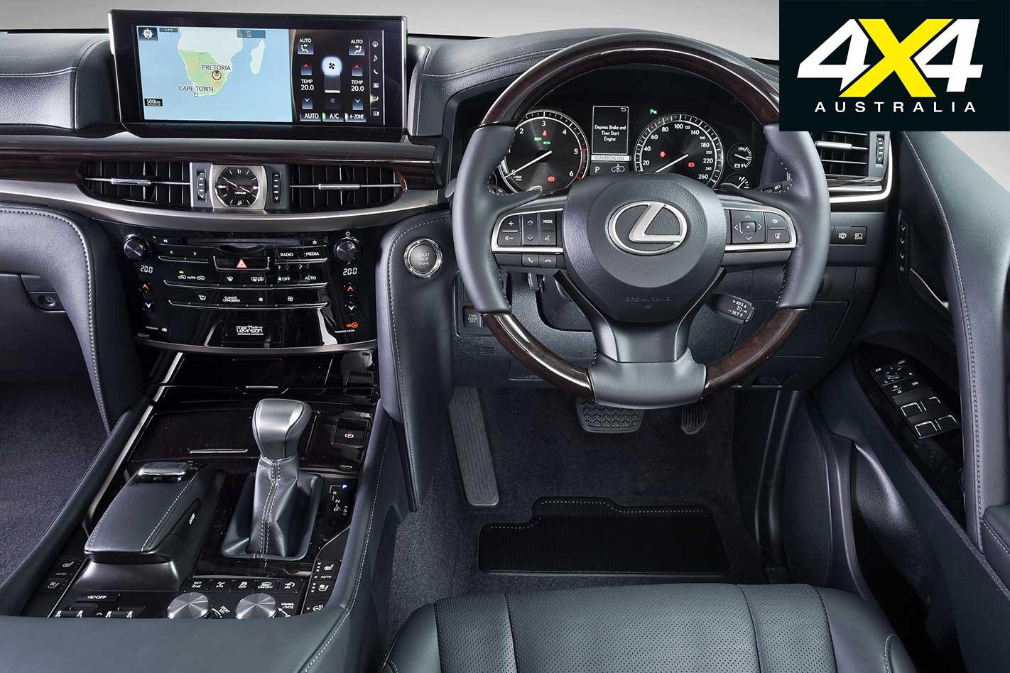 Lexus Lx 450 D Interior Jpg