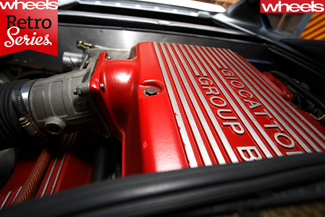 Giocattolo -Group -B-Holden -Engine