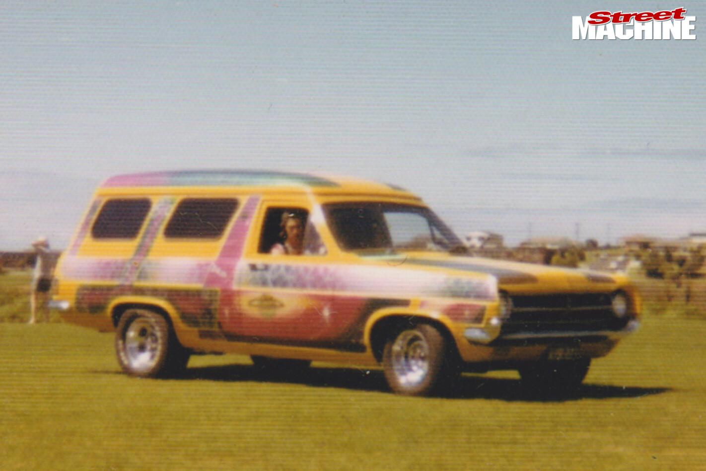 Holden HD van