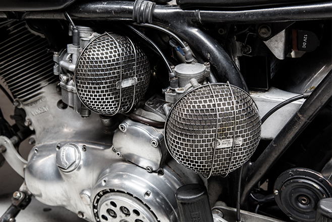 Norvin motorcycle engine