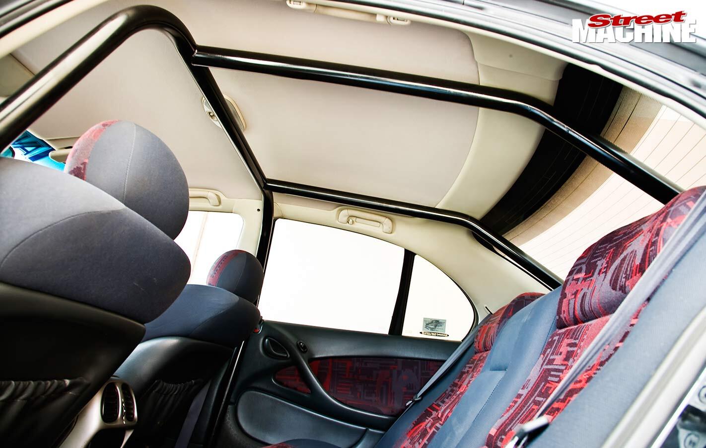 Holden VX Commodore interior