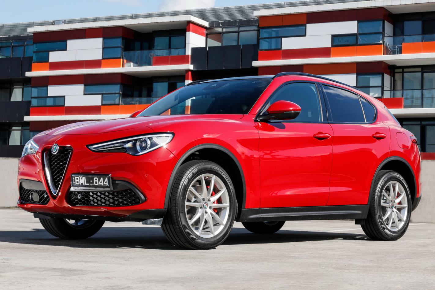 2021 Alfa Romeo Stelvio Sport Normal Png