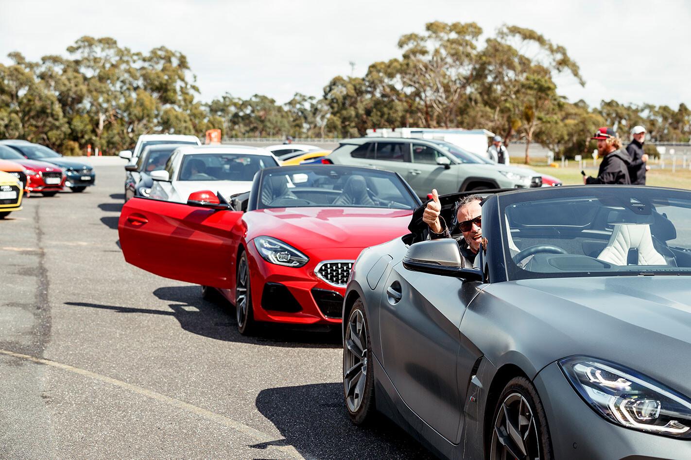 testing COTY cars