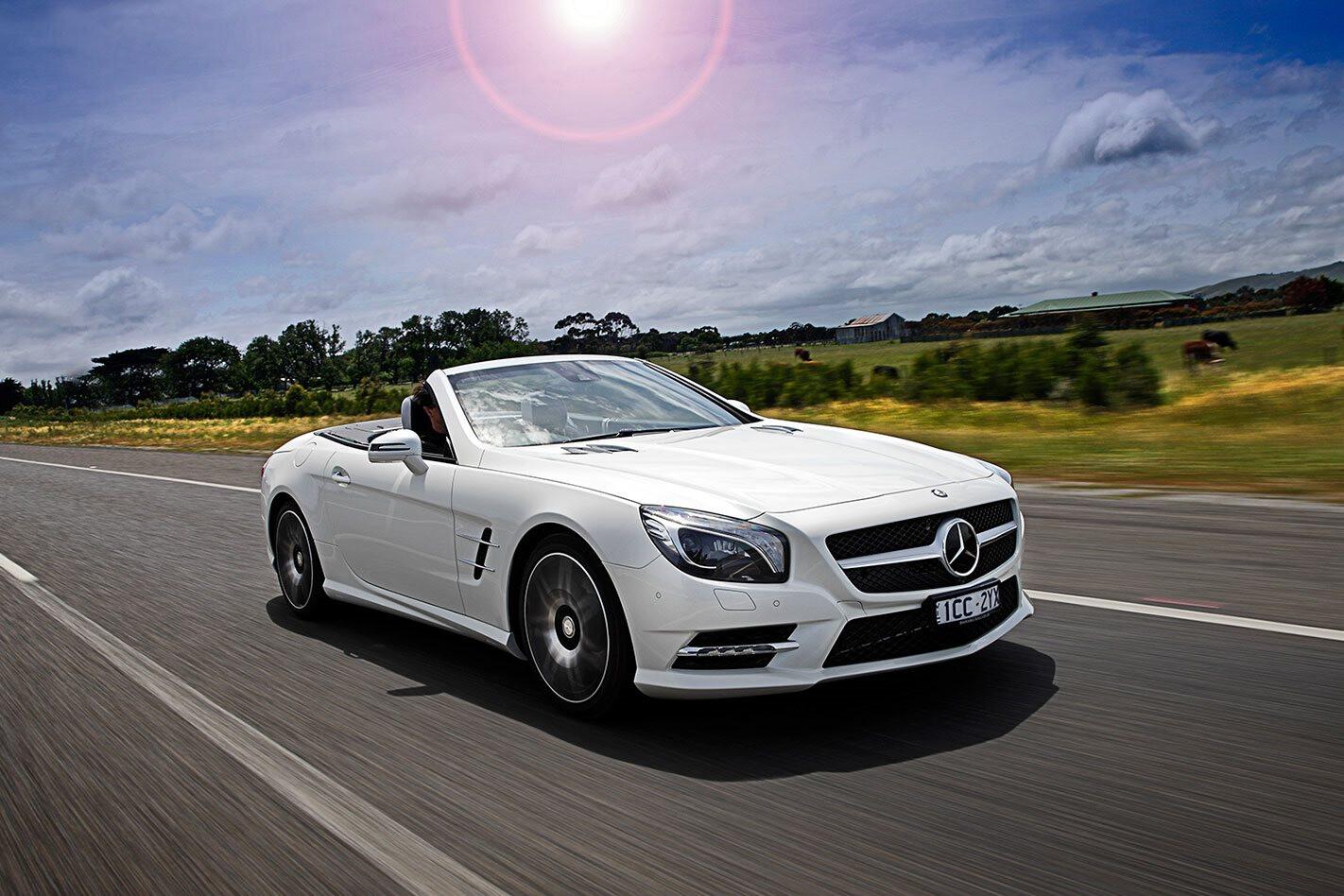 Mercedes-Benz SL400 review test drive
