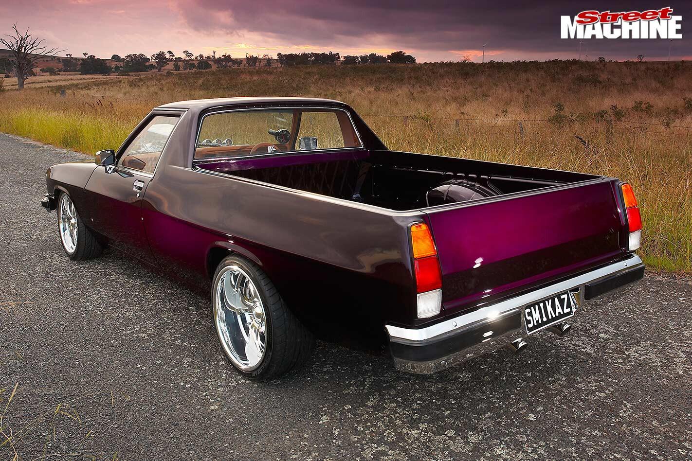 Holden WB ute rear