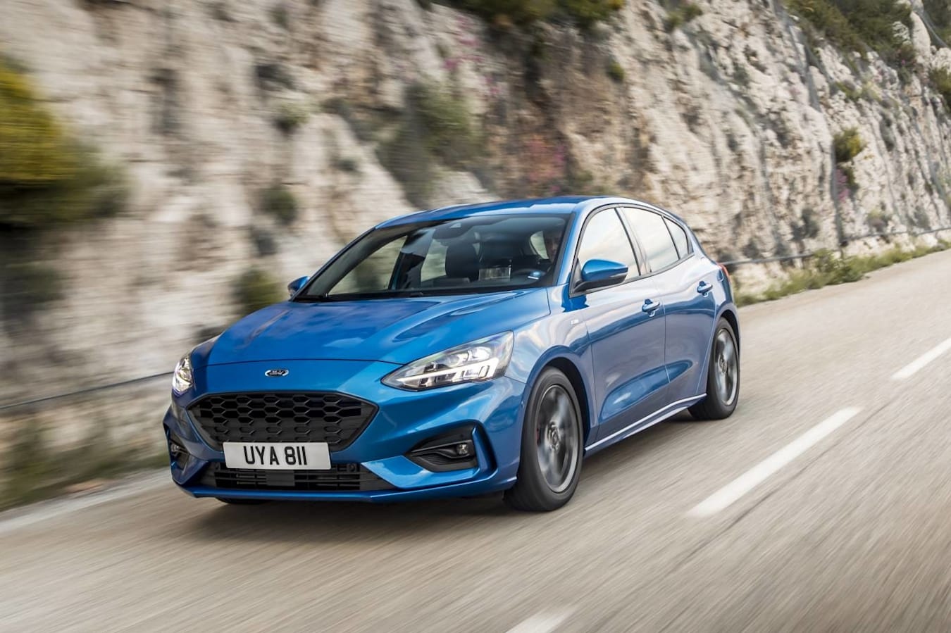 2019 Ford Focus Front Action Jpg