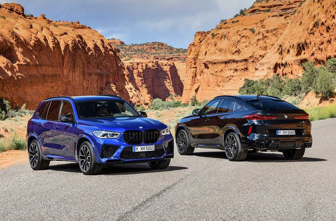 2020 BMW X5 M X6 M Competition revealed