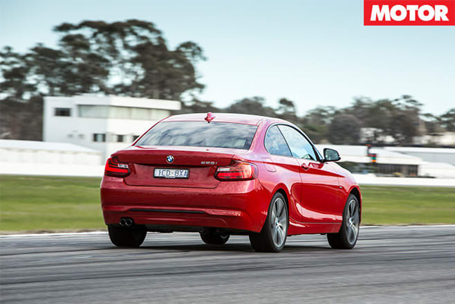 BMW-228i -rear