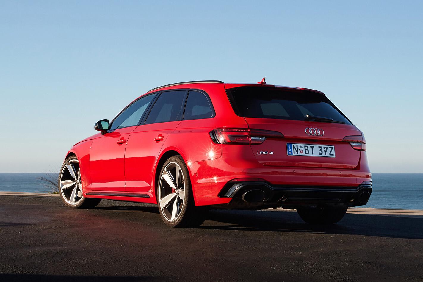 Audi RS 4 Static Rear Jpg