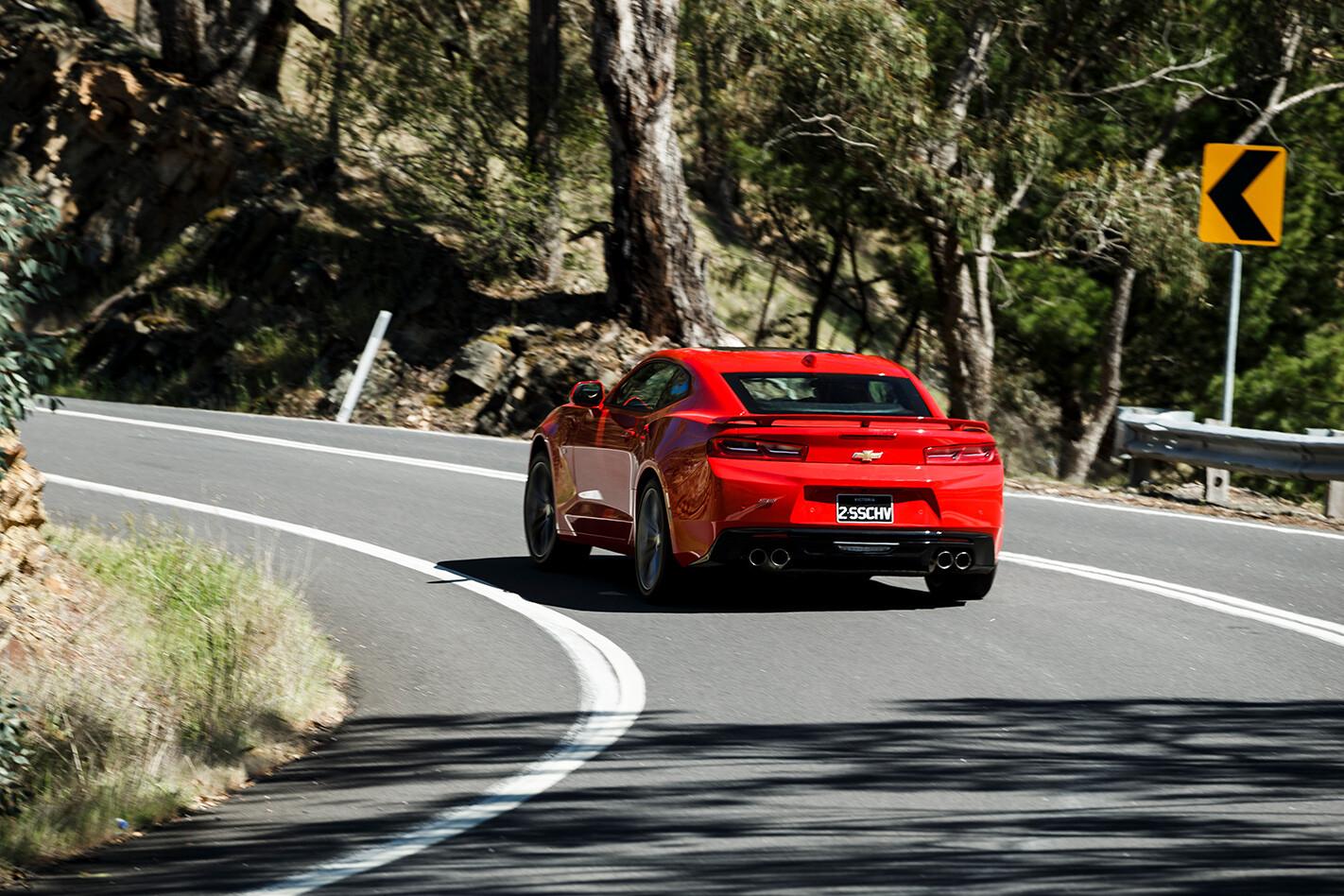 Chevrolet Camaro Ss Rear Cornr Jpg