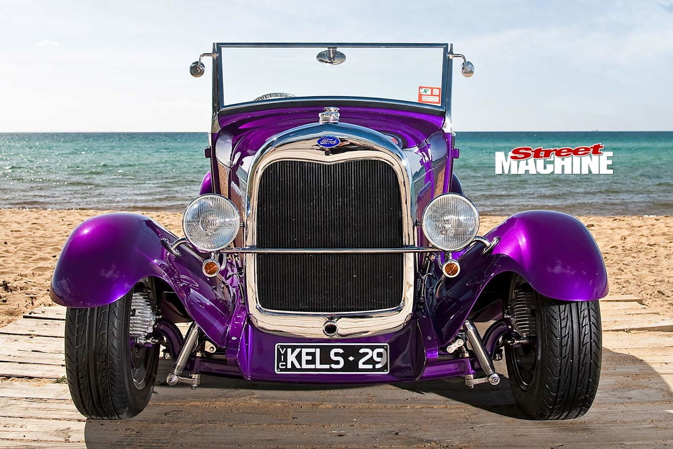 Ford Model A roadster front