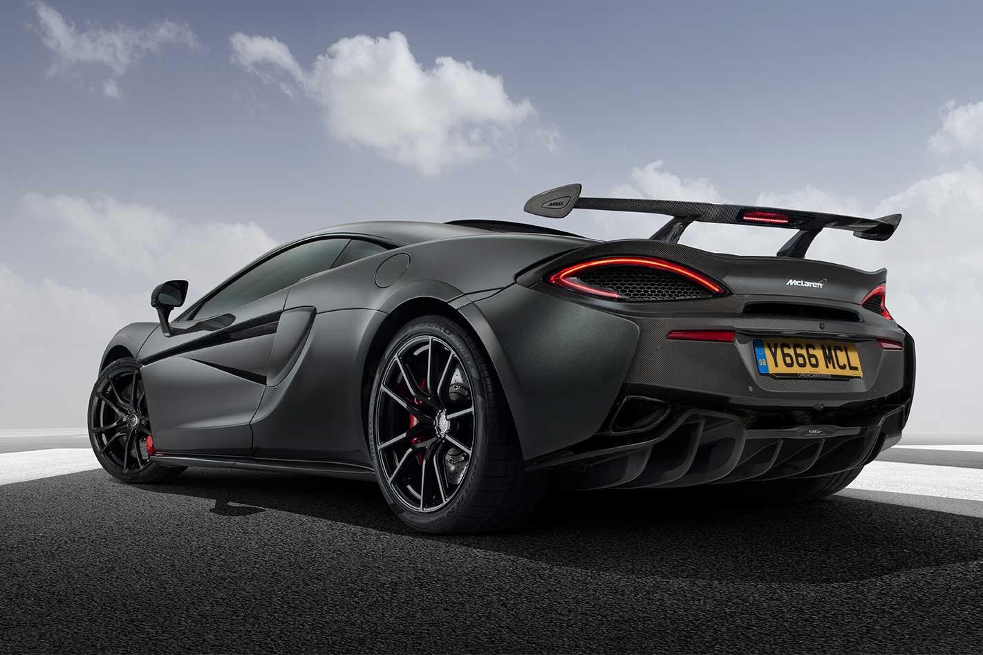MSO High Downforce Kit McLaren 570S