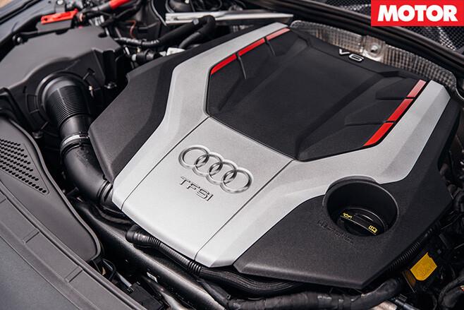 2017 Audi S4 engine