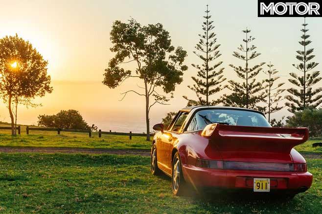 Norfolk Island Only Porsche Rear Jpg