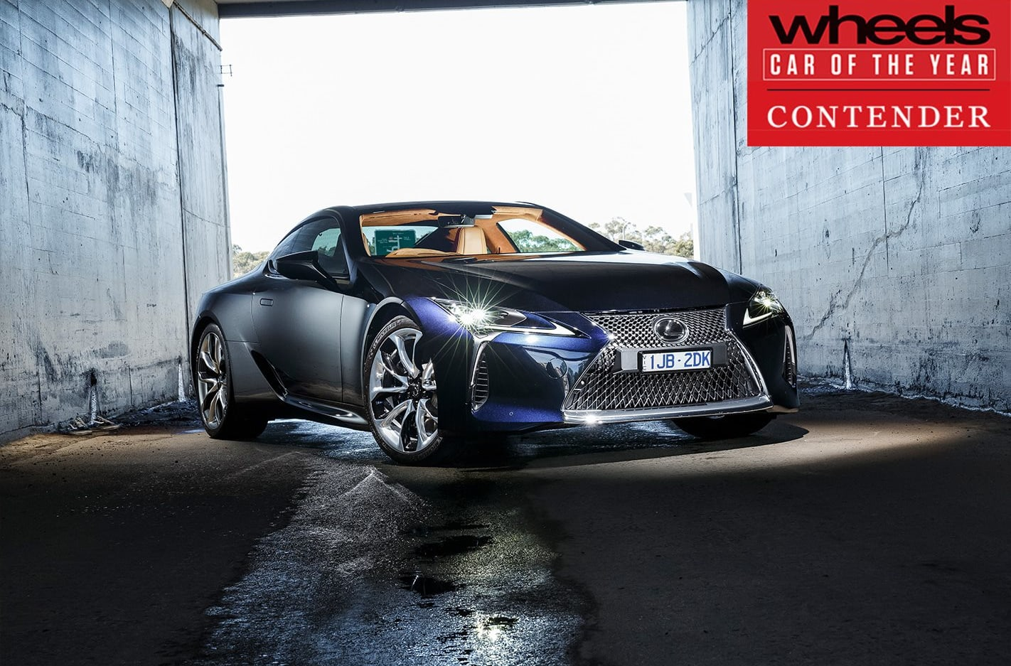 Lexus LC 2018 Car of the Year contender