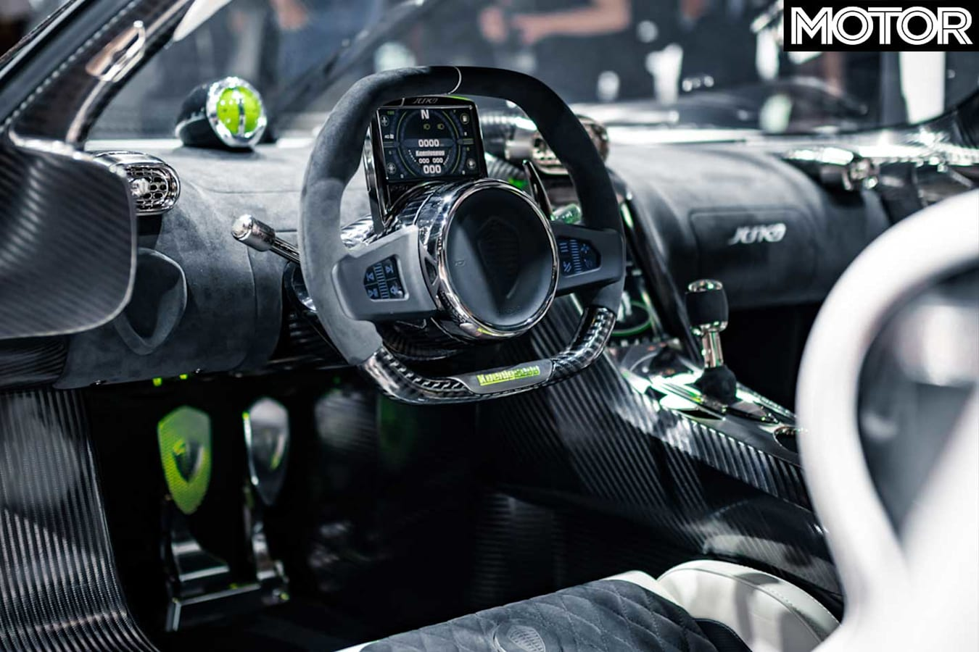 Koenigsegg Jeskos Geneva Motor Show Interior Jpg
