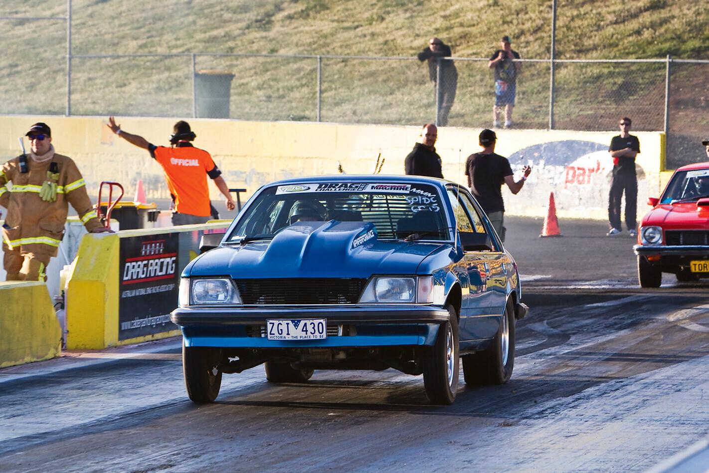 Luke Foley's Holden VH Commodore