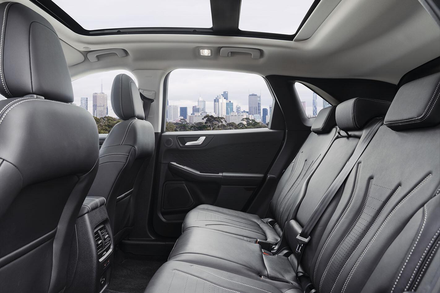 Ford Escape Vignale rear seats