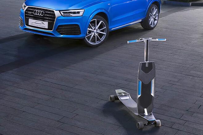 Audi Q3 scooter