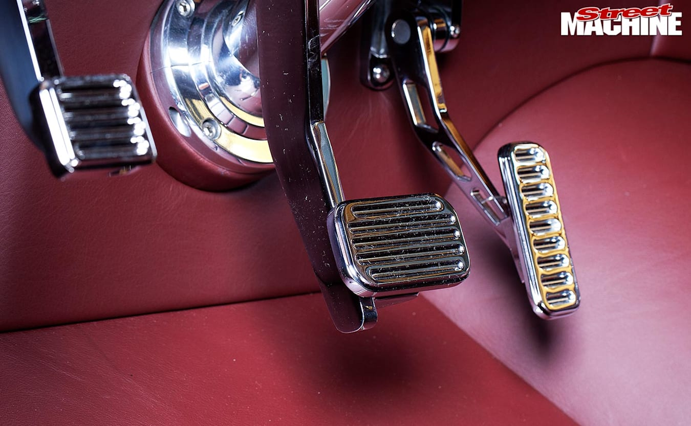 Ford F100 pedals