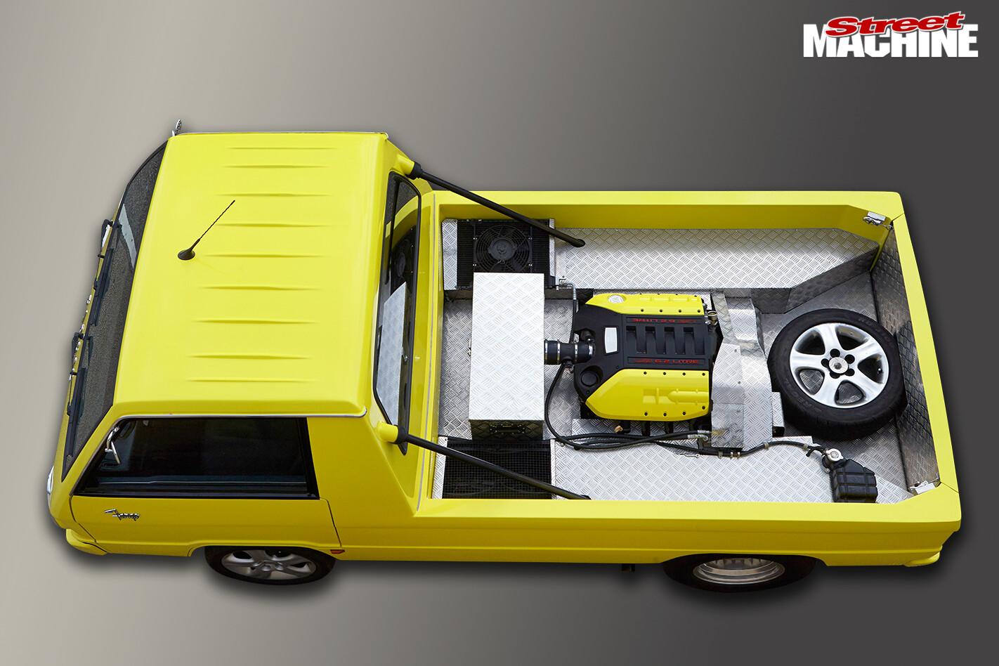 Mitsubishi Fargo Replica Tray